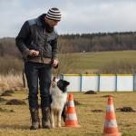 23|02|2014 – Unterordnung: Mit »Twix« auf dem Hundeplatz