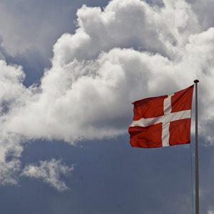 Urlaub mit Hund in Dänemark, Dänische Flagge