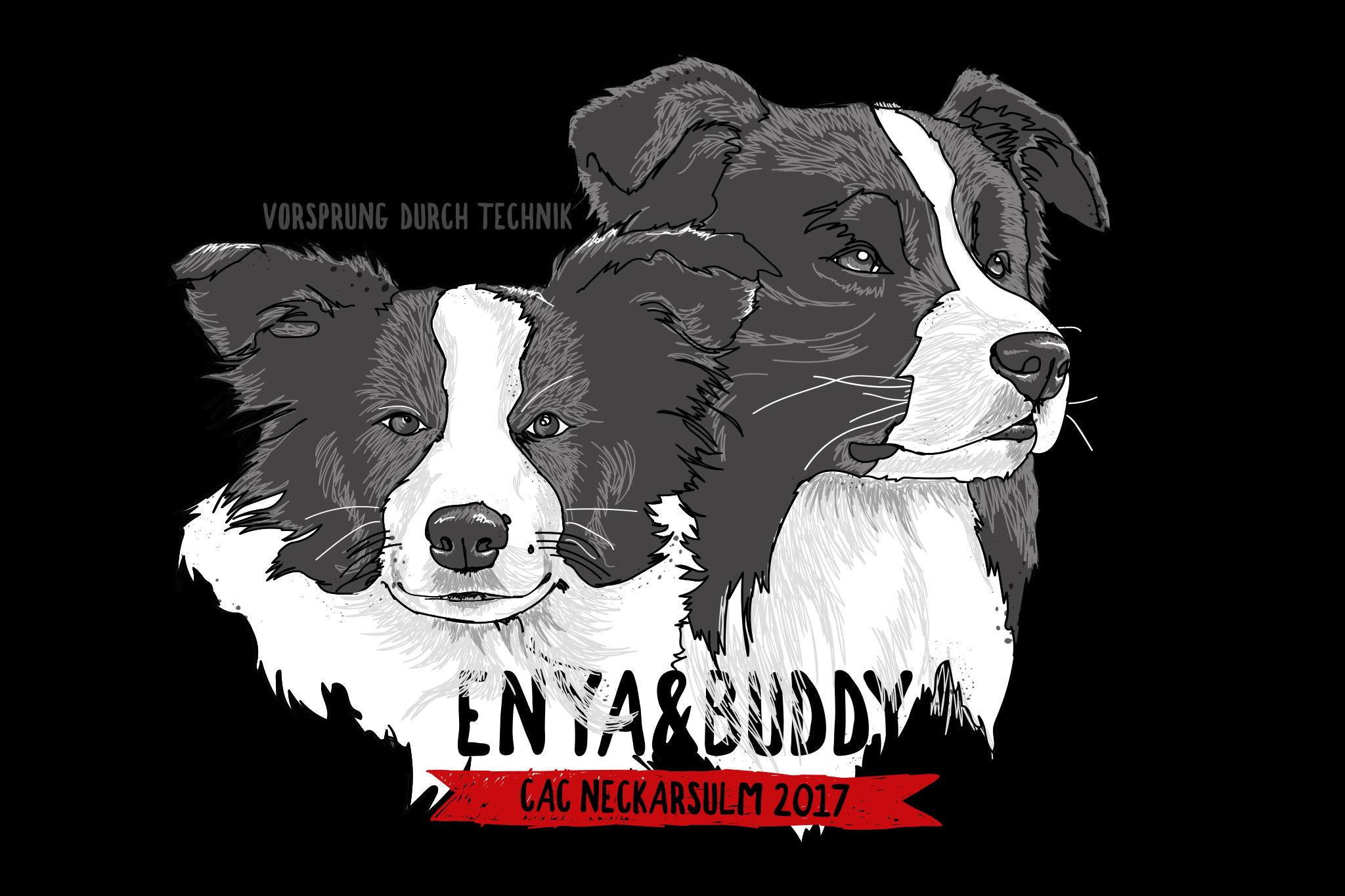 10|09|2017 – Enya und Buddy auf der CAC Neckersulm