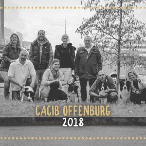 CACIB Offenburg: Nicole und Wenzel mit Enya, Roland und Silvia, Dennis und Melanie mit Ellie, Dirk mit Heidi, Uta mit Buddy