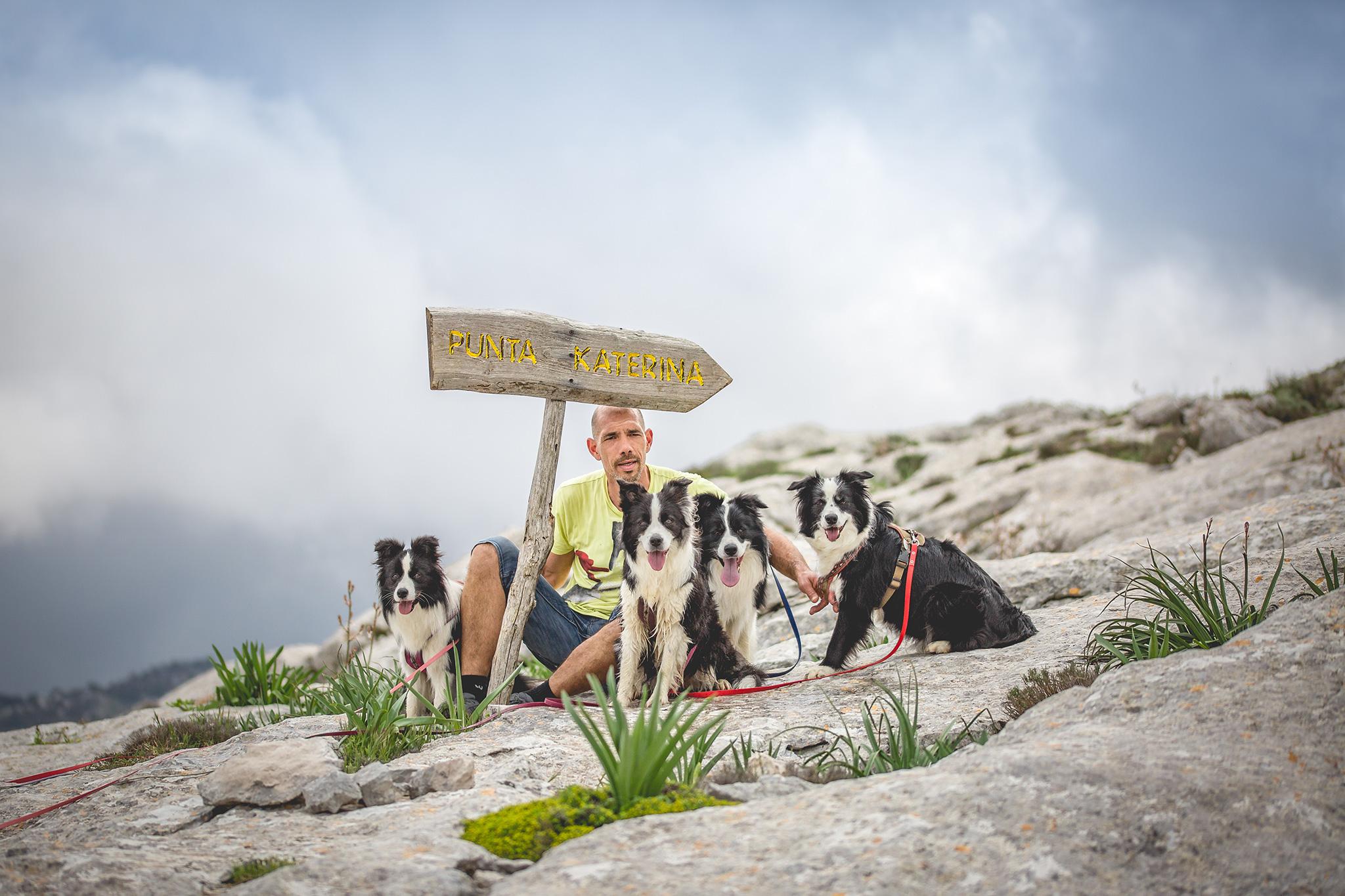06|05|2018 – Bergwanderung mit unseren Border Collies im Monte Albo