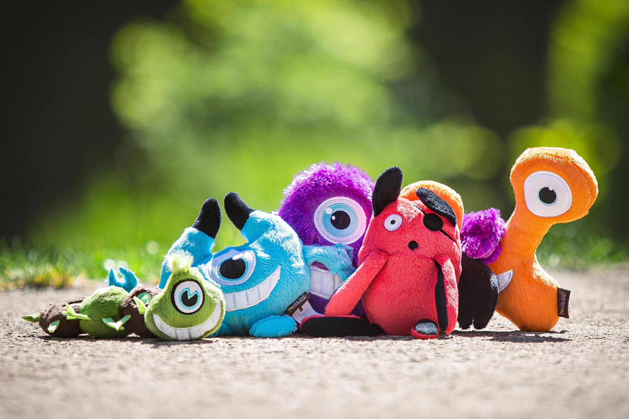Monster PLAY Hundespielzeug für Border Collies