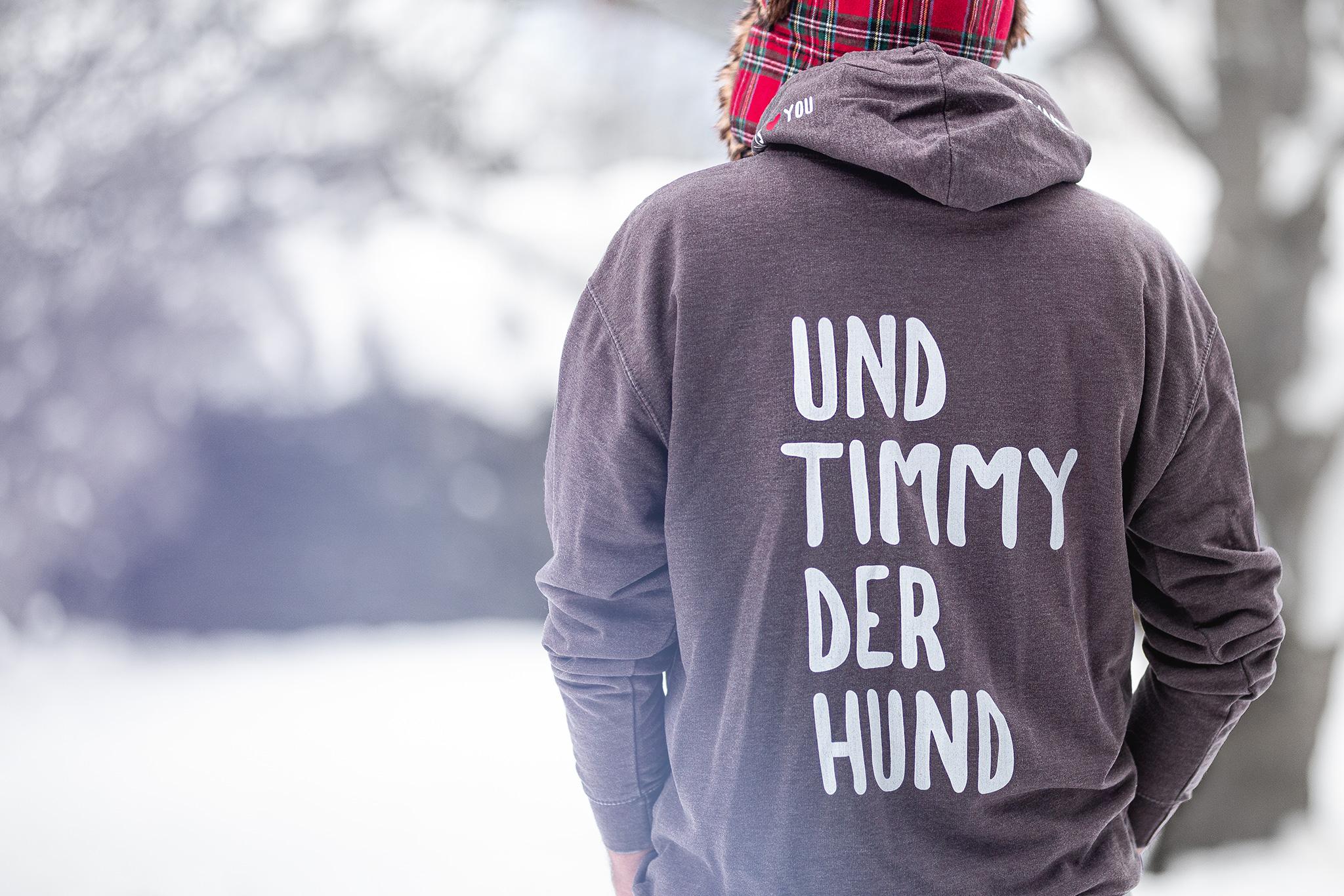 """Broadmeadows Border Collies Pullover """"Und Timmy der Hund"""", offizieller Merchandise"""